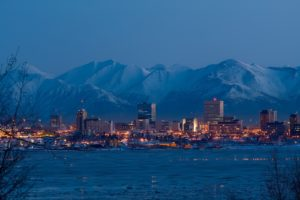 Fairbanks and Anchorage - winter vacation spots