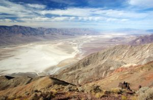 Death Valley National Park, California and Nevada - winter vacation spots