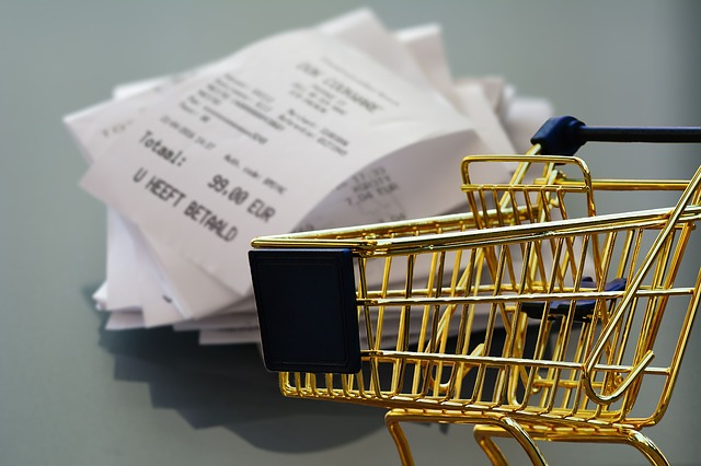shopping receipts - frugal shopper