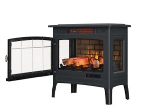 Duraflame DFI-5010-01 Infrared Quartz Fireplace Stove - indoor electric fireplaces