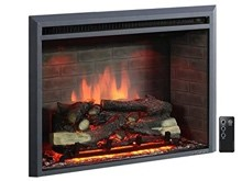 PuraFlame 33-Inch Western Electric Fireplace - indoor electric fireplaces