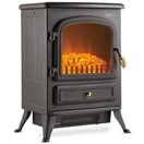 VonHaus Electric Stove Heater Fireplace - indoor electric fireplaces