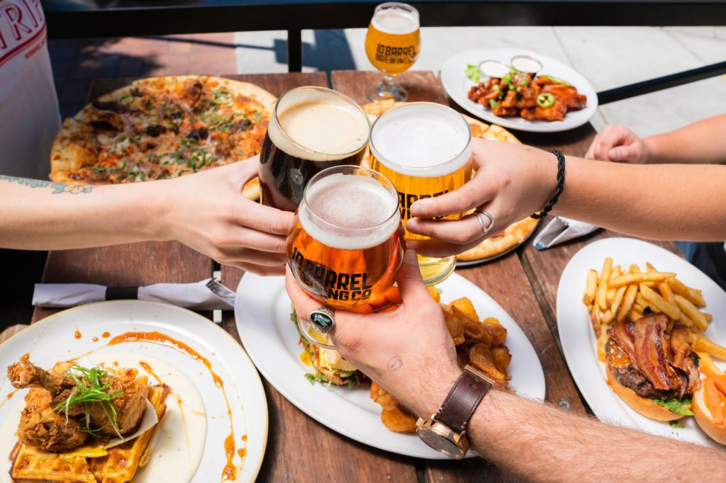 a feast and beer