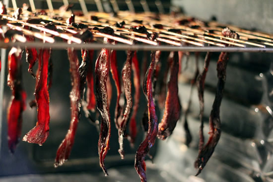 Beef Jerky-Artificial Drying