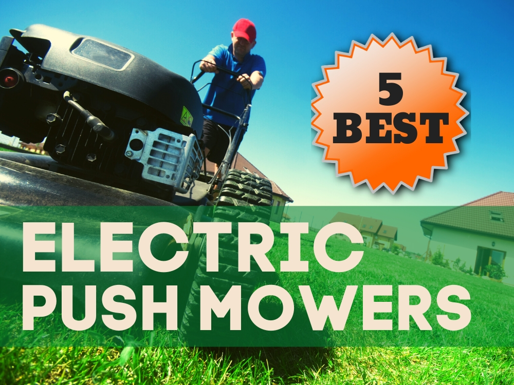 Electric Push Mower featured