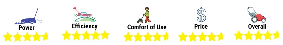Electric Mower rating 4