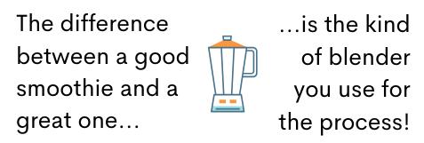 countertop blender fact