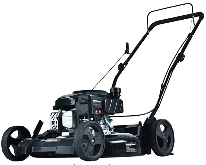 gas lawn mower 5