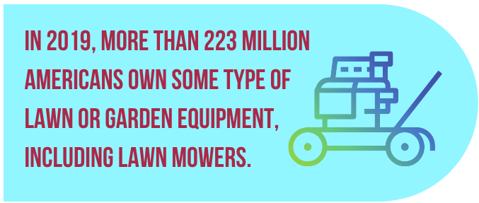 gas lawn mower fact