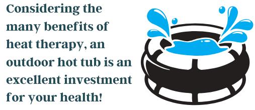 outdoor hot tub fact