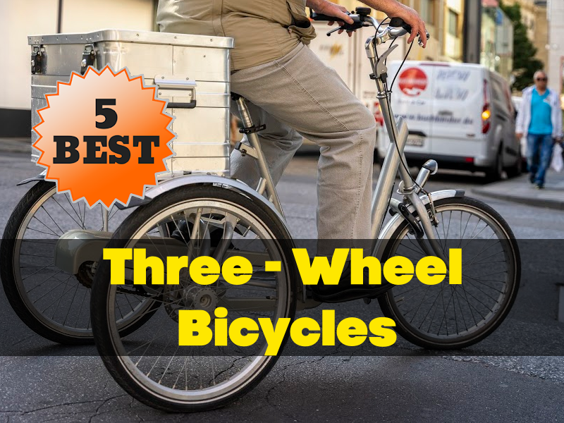 Three Wheel Bicycles Feature