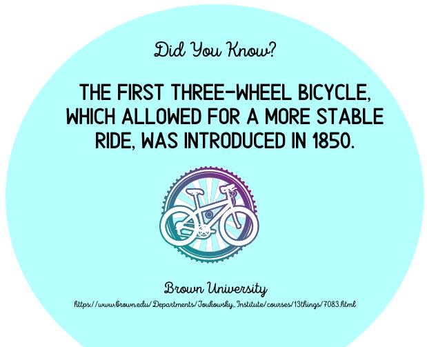 Three Wheel Bicycles - fact